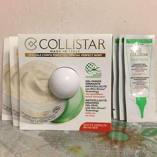 COLLISTAR 一套6件 強效除紋精華 纖體消脂凝膠泥