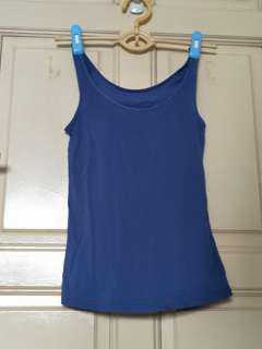 Uniqlo dark blue airism top