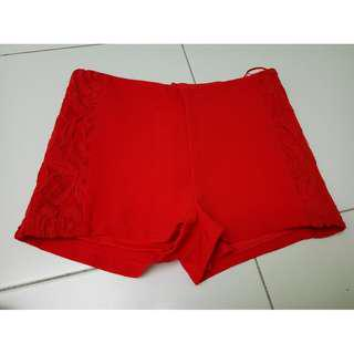 SUB Red Pant