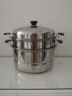 Stainless Steel Food Steamer