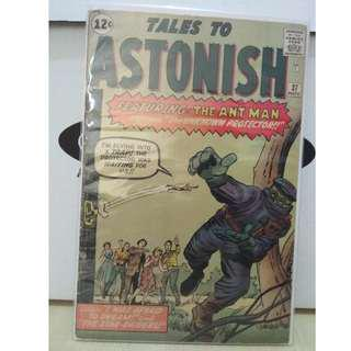 🚚 Tales to Astonish Vol. 1 #37 - 1st appearance of the Protector