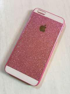 Hardcase Apple Glitter Pink iphone 6+ / 6s plus