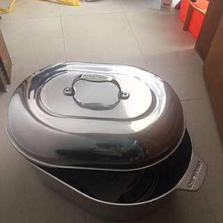 Chef's Design 1165 Covered Oval Roaster