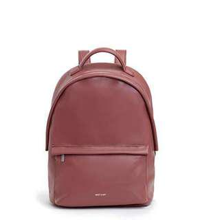 Matt & Nat Munich Backpack (Mauve)