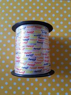 🌻Birthday Party ribbon