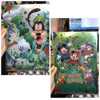 東京迪士尼 Tokyo Disneyland 35週年 file goofy 高飛1個