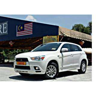 MITSUBISHI ASX 2.0 ( A ) 2WD MIVEC SPORT 6 SPEED !! CBU !! PREMIUM HIGH SPECS COMES WITH REVERSE CAMERA PADDLE SHIFT & ETC !! ( WXX 906 ) 1 CAREFUL OWNER !!