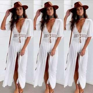 White Summer Outer dress