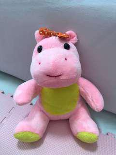 LITTLE PINK HIPPO