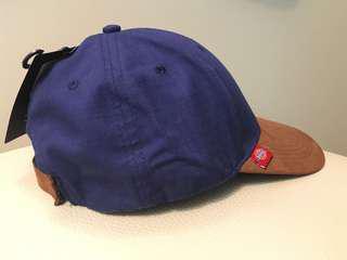 全新dickies cap帽 藍啡色