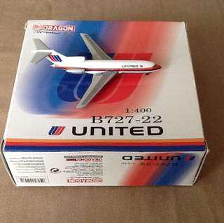 BRAND:DRAGON-UNITED AIRLINES B727-22/1:400