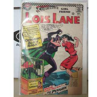 🚚 Superman's Girlfriend Lois Lane Vol. 1 #70 - 1st Silver Age appearance of Catwoman (Major Key!)