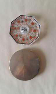 李居明家用小羅盤+銅纸震