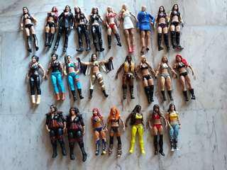 WWE Used Divas Figure