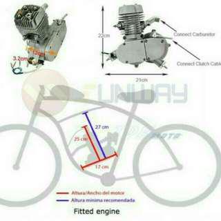 Bicycle modification,自行車改裝80cc,腳踏車引擎改裝,自行車改裝, 高雄市區可代客安裝費用1500【只賣組件不含自行車】有影片Diy教學
