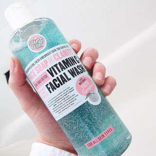 Soap & Glory vitamin C facewash