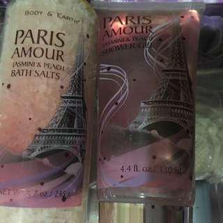 bath salts and shower gel (sealed)