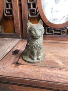 Old Bronze Cat