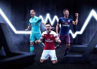 Puma Arsenal Home Away & Third Kit 18/19