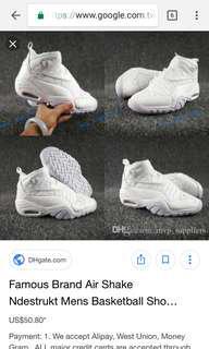 🚚 Rodman nike 老爹鞋 籃球鞋 原價四千多 白鞋 us10 七八成新 balenciaga trple s