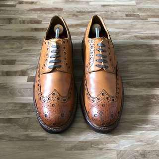 UK7 Grenson Archie Brown Leather Brogue