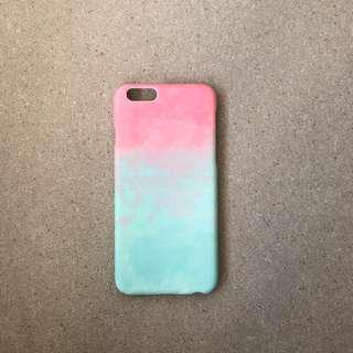 🚚 Pink Green Watercolour Pattern iPhone Case