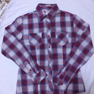 Women's checkered shirt