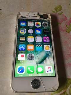 🚚 Apple IPhone5 白色 當零件機出售 (可議)~