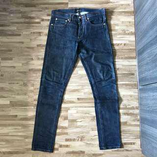 APC Petite New Standard Raw Denim Jeans (W28)