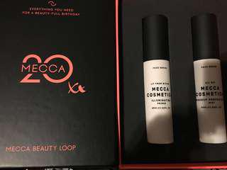 Mecca cosmetica beauty loop primer + makeup setting spray $80
