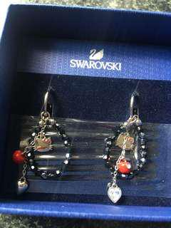 Swarovski 耳環 Hello Kitty