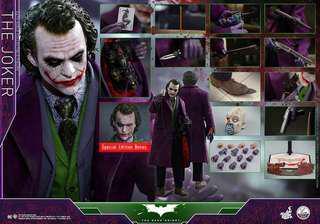 Hottoys QS010 1/4 The Joker 會場版29号訂單