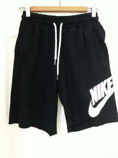 🚚 Nike大Logo棉褲 (後有口袋)