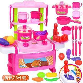 全新煮飯仔廚房玩具