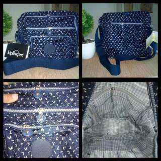 KIPLING Multilayered Zipper Sling/ Shoulder Bag