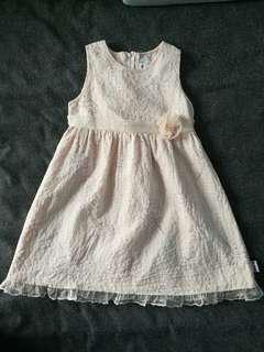 Kiko Sleeveless High Waist Flower Girl Dress 3T #mcsfashion