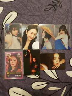 Red Velvet photocards