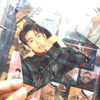 wts got7 7 for 7 present edition jinyoung triangle