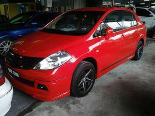 Nissan latio 1.8 C vtc (A)