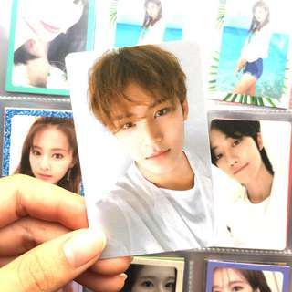 wts seventeen you make my day meet ver mingyu photocard