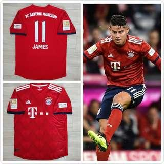 Bayern Munich home jersey player version