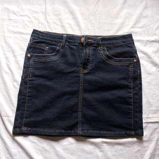 The classic mini skirt
