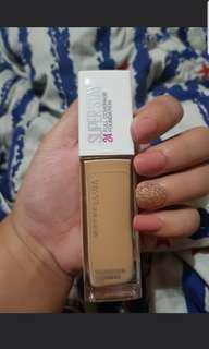 SALE Maybelline 24hr superstay foundation