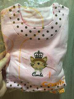 🚚 全新Combi女嬰連身裝
