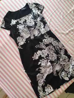 Flower Modern Dress [ PREMIUM COLLECTION ]