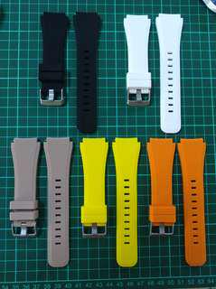 Rubber straps 22mm new