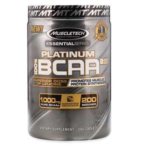 MuscleTech Platinum BCAA 8:1:1 支鏈氨基酸 200粒
