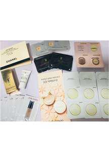 YSL/Chanel/Sulwhasoo雪花秀/IPSA/Shiseido/Laneige/Cyber Color Foundation Sample 粉底液粉餅 bb cushion 試用裝