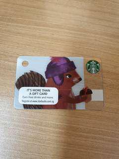 BN Mini starbucks card