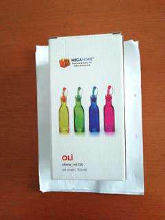 New. Oil Cruet Oil Pourers Glass Bottles